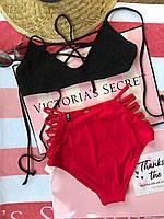Оригинал Victoria Secret купальник XS S M L купальники Виктория Сикрет Пинк