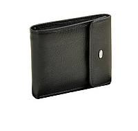 Кошелёк мужской кожаный DR. BOND 12*9.5*2 черный, фото 1