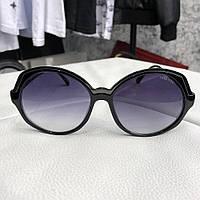 Солнцезащитные очки женские Miu Miu Round Reveal Black