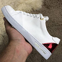 Женские кроссовки Louis Vuitton Frontrow White/Red