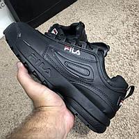 Мужские кроссовки Fila Disruptor 2 Black 40, 41