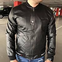 Мужская куртка Dsquared2 Sport Leather Black
