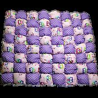 Игровой коврик бон-бон «Магия» (розовый/фиолетовый) 110х110 (700035)