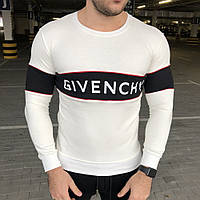 Мужской свитер Givenchy Round Logo White XXL