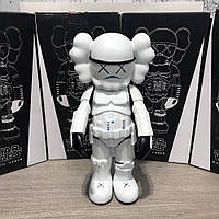Фигурка Kaws Star War Stormtrooper 400% Action Figure With Original Box White