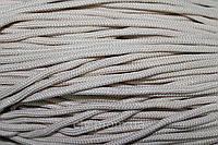 Полиэфирный шнур для вязани с сердечником, 5 мм (200 м), бежевый