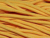 Полиэфирный шнур с сердечником, 5 мм (200 м), желтый