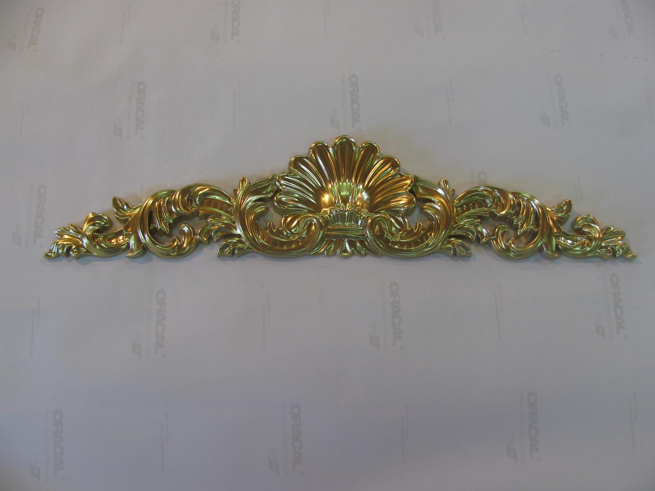 Декор центральний різьблений