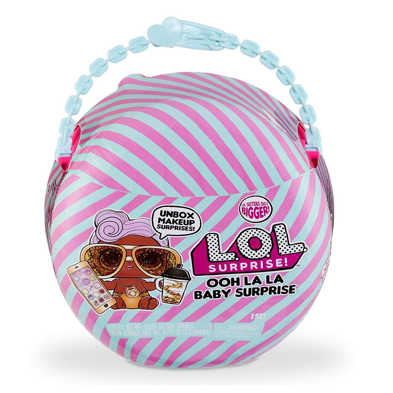 Кукла ЛОЛ Сюрприз Малышка Ди Джей Мини-дива L.O.L Ooh La La Baby Surprise Lil D.J. S2