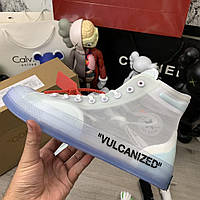 Converse x Off-White 38 Размер Chuck 70 Clear/White/White