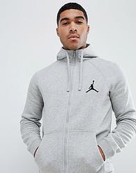 Серый мужской летний спортивный костюм Jordan (Джордан)