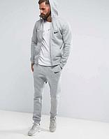 Серый мужской спортивный костюм Nike (Найк)