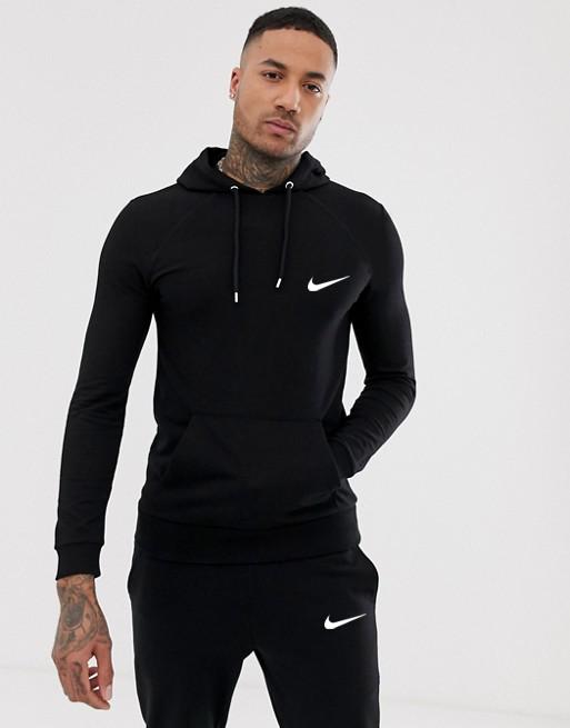 Черный тернировочный мужской спортивный костюм Nike (Найк)