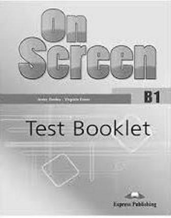 On Screen B1 Test Booklet