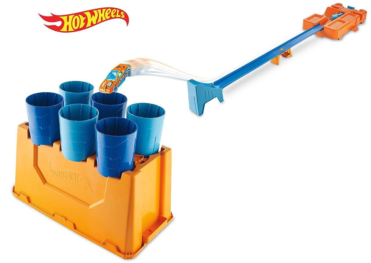 Хот Вилс Строительная коробка для трюков Hot Wheels Track Builder Barrel Box