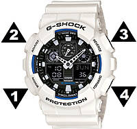 Инструкция по настройке часов Casio G-Shock