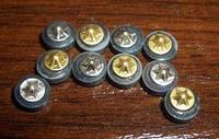 Звездочка магнитная желтая и белая для Су Джок, рефлексотерапии
