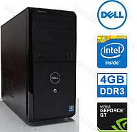Dell Vostro 230 - 4 ЯДРА/ 4GB DDR3/ GeForce GT430 1GB DDR3/ 500GB HDD Системный блок, Компьютер, ПК