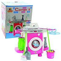 Набор игровой, стиральная машина «Carmen» №5 с аксессуарами 58843, фото 1