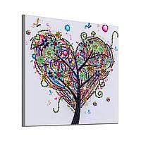 Алмазные картины Love Tree 25X 25см Точечные сверления Специальное сверление Инструмент - 1TopShop