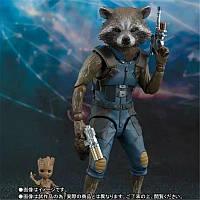 Фигурки Rocket Raccoon & Baby Groot