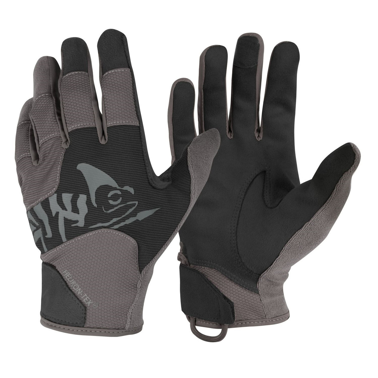 Рукавиці Helikon-Tex® All Round Tactical Gloves. BLACK/SHADOW GREY, M
