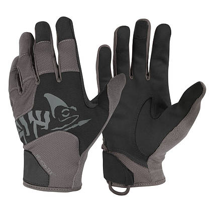Рукавиці Helikon-Tex® All Round Tactical Gloves. BLACK/SHADOW GREY, M, фото 2