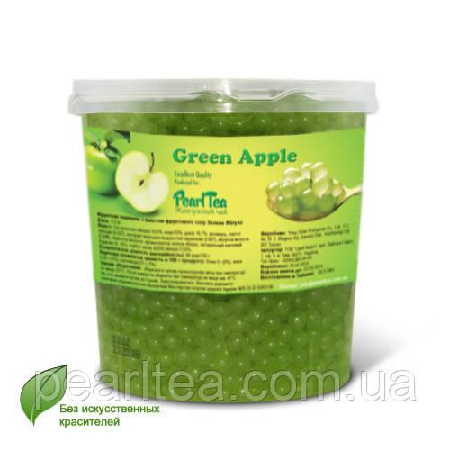 Шарики с соком Зелёное Яблоко для bubble tea