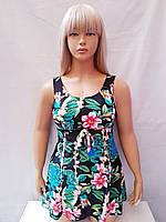 Купальник платье слитный Besea Fairy 67133 Грейс черный (есть 50 52 54 56 размеры)