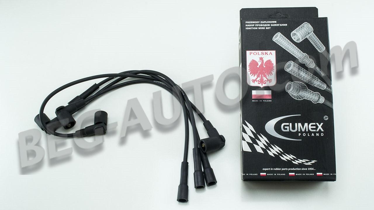 Провода зажигания Ваз 2108-21099,2110-2112,2113-2115,1117-1119 8V Gumex