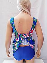 Купальник платье слитный Besea Fairy 67133 Грейс синий(есть 50 52 54 56  размеры), фото 3