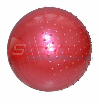 Мяч для фитнеса полумассажный. 65 см-ОМ
