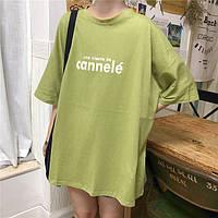 e0366007cea80 Одежда для беременных Новый Свободный Большой Размер Авокадо Зеленый Письмо  Печати База Беременная Мать Футболка С