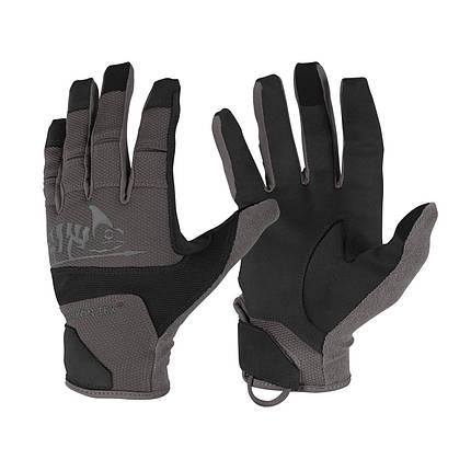 Рукавиці Helikon-Tex® Range Tactical Gloves Hard. XXL, BLACK/SHADOW GREY, фото 2