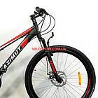 Горный велосипед Azimut Forest 26 GD черно-красный, фото 2