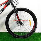 Горный велосипед Azimut Forest 26 GD черно-красный, фото 3