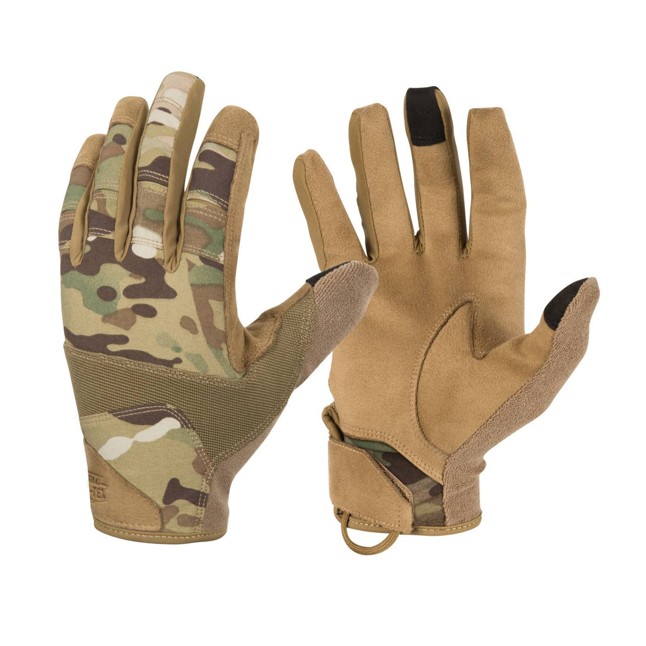 Рукавиці Helikon-Tex® Range Tactical Gloves Hard. S, MULTICAM®/COYOTE