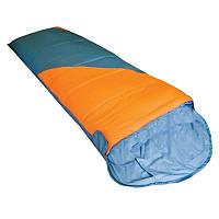 Спальный мешок Tramp Fluff V2 Right оранжевый/серый (TRS-037R)