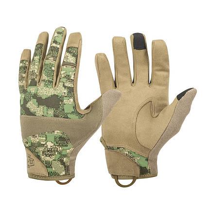 Рукавиці Helikon-Tex® Range Tactical Gloves Hard. M, WILDWOOD/COYOTE, фото 2