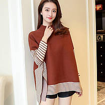 Женское Новые модные свитера в полоску с цветочным принтом - 1TopShop, фото 3