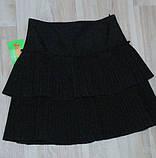 Юбка на девочку  1140-152 р  Польша арт 6848-80  черная., фото 8