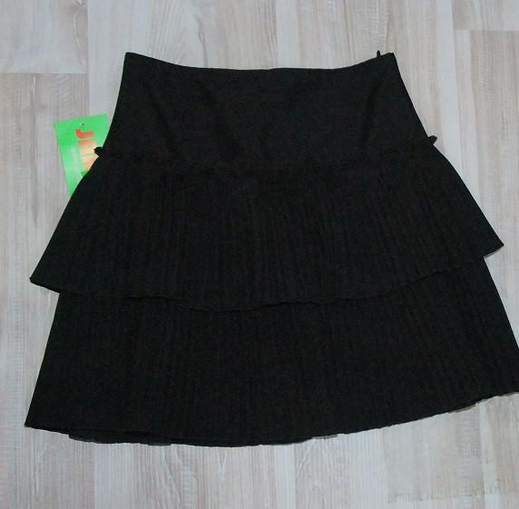 Юбка на девочку  1140-152 р  Польша арт 6848-80  черная.