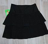 Юбка на девочку  1140-152 р  Польша арт 6848-80  черная., фото 9