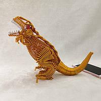 [Модель Traosaurus] Алюминий Провод Поделки из коллекции детских игрушек Сувенирная модель из динозавров - 1TopShop
