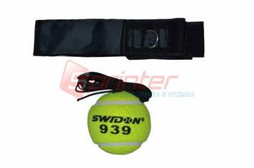 Тренажёр-эспандер для бокса с мячиком.G-393.(Китай).Fight ball