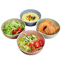 Набор столовых приборов из соломы пшеницы Большая миска для риса для дома Еда для супа Чаша для супа 6 дюймов Большая миска Миска для лапши - 1TopShop