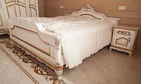 """Кровать из натурального дерева """"Наполеон"""", для сна, в спальню, двухместная. От фабрики производителя Под заказ"""