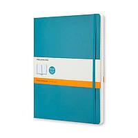 Блокнот Moleskine Classic Большой (19х25 см) 192 страницы в Линейку Аквамарин Мягкая обложка (9788867323753), фото 1