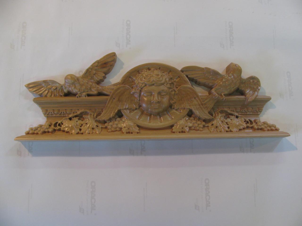 Декор різьблений з дерева