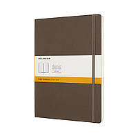 Блокнот Moleskine Classic Большой (19х25 см) 192 страницы в Линейку Коричневый Мягкая обложка (8058341715550), фото 1